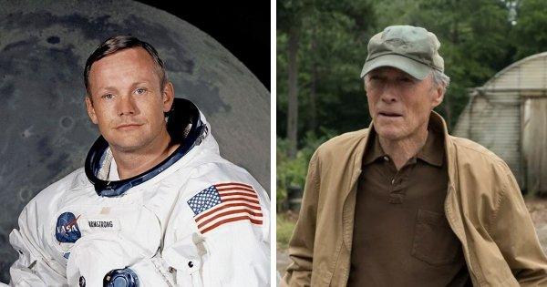 Нил Армстронг и Клинт Иствуд родились в 1930 году