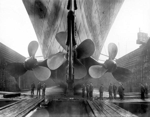 Винты Титаника по сравнению с людьми