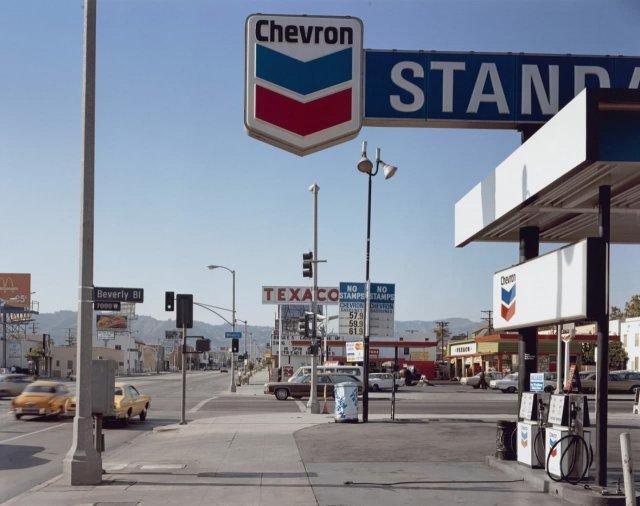Ла-Бреа-авеню, Лос-Анджелес, Калифорния, 1975 год.