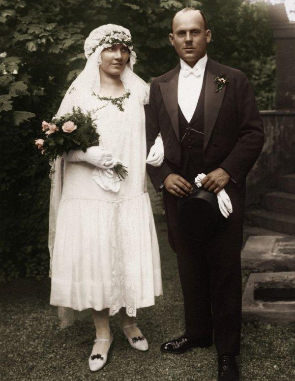 1926 год. Жених и невеста