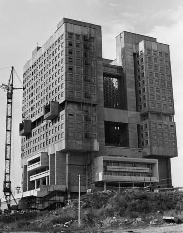 Строительство Дома Советов, Калининград, 1 ноября 1990 года.