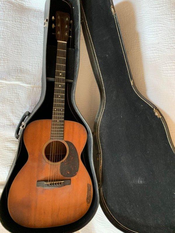 Гитара 1960 года, которая досталась мне в наследство