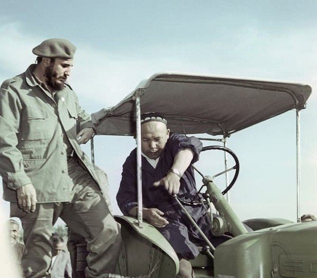 Фидель Кастро в Узбекистане. 1963 год.