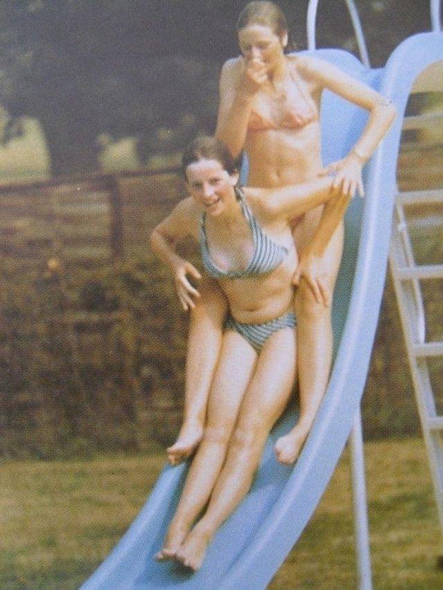 Леди Диана Спенсер (будущая принцесса Уэльская Диана) в юности, 70-е.