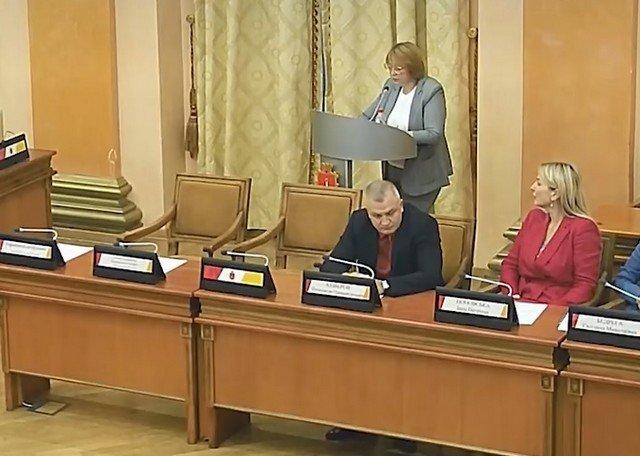 Депутаты горсовета Одессы пытаются говорить на украинском языке