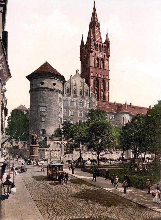 Замок Кёнигсберг, фото начала XX века