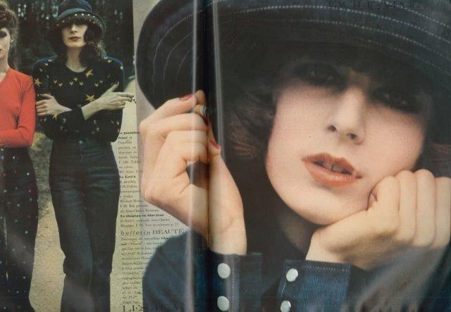 Американская модель Анжелика Хьюстон, 1971 г.