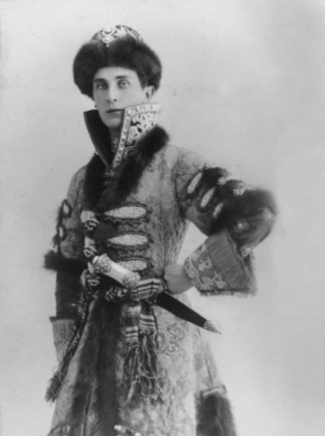 Князь Феликс Юсупов - один из участников убийства Григория Распутина, 1912 год.