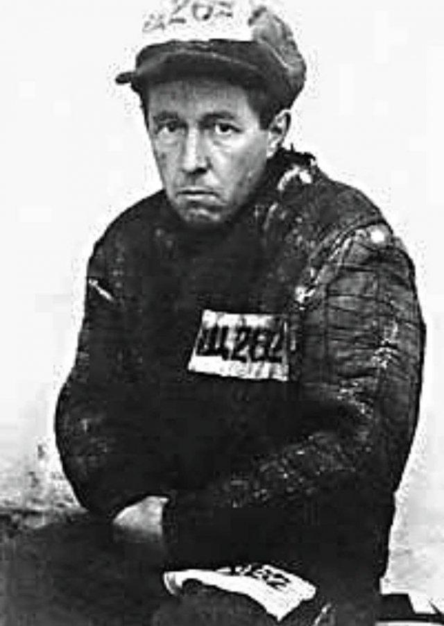 А. И. Солженицын после 8 лет исправительно-трудовых лагерей, 1953 год.
