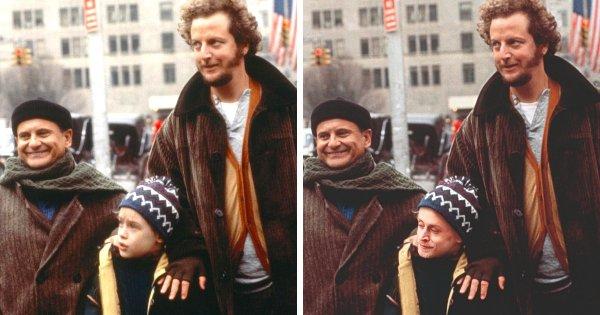 Маколей Калкин в фильме «Один дома 2: Потерявшийся в Нью-Йорке» (1992)