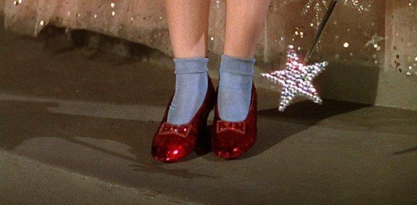 Волшебные туфельки из фильма «Волшебник страны Оз» (1939)