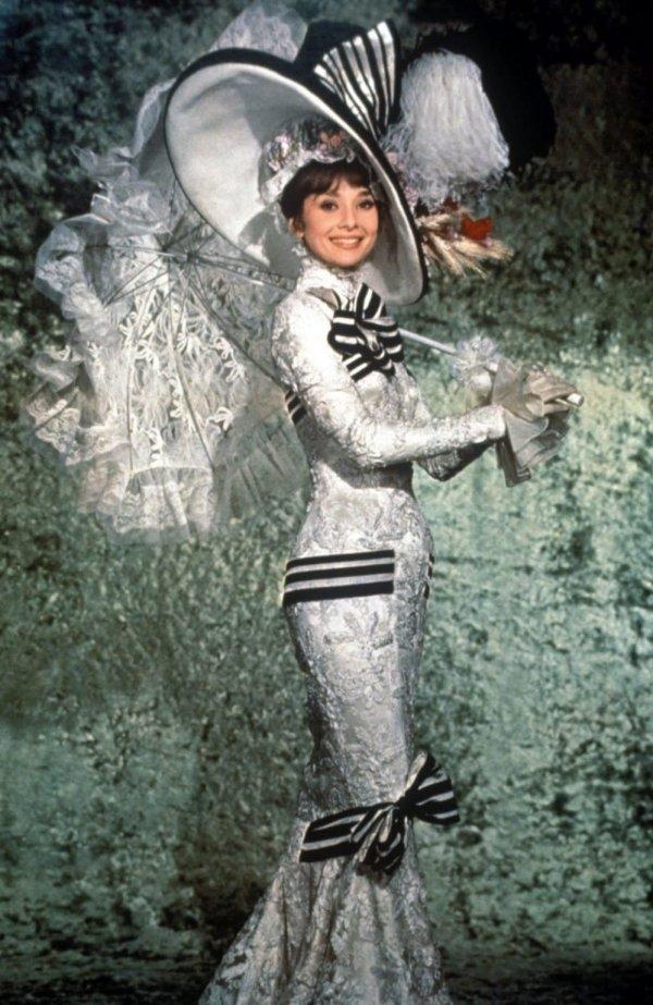 Платье Одри Хепбёрн из фильма «Моя прекрасная леди» (1964)