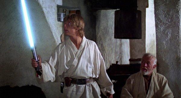 Световой меч Люка Скайуокера из «Новой надежды» (1977)