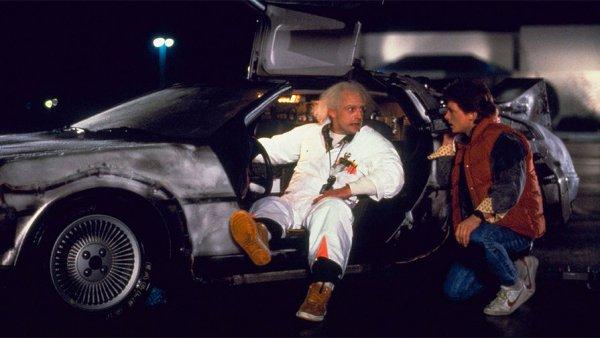 Автомобиль DeLorean DMC 12 из «Назад в будущее» (1985)