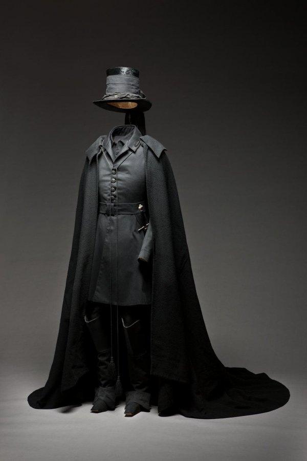 Траурная одежда графа Магнуса Браге с похорон шведского кронпринца Карла XIV Юхана в 1844 году