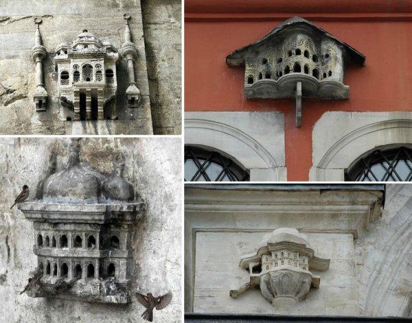 Скворечники османской эпохи, напоминающие миниатюрные дворцы и мечети