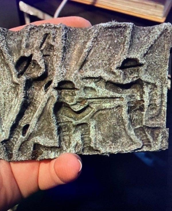 Нашли это в парке Миннесоты, где были обнаружены объекты 1860-х годов
