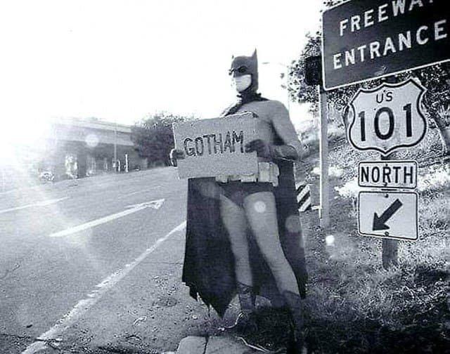 Автостопщик в Калифорнии, 1968 г.