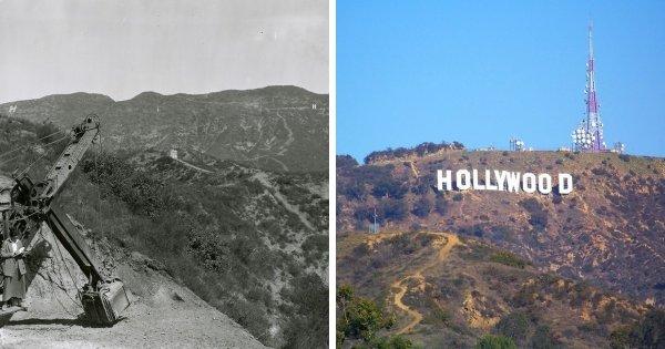 Знак Голливуда, Лос-Анджелес, США