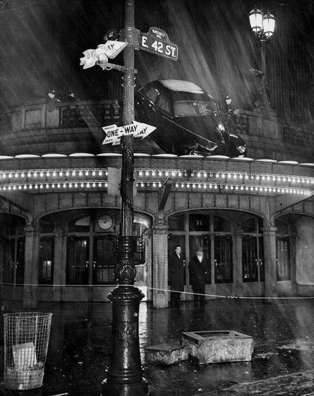 Происшествие на Центральном вокзале Нью-Йорка, 1944 год.
