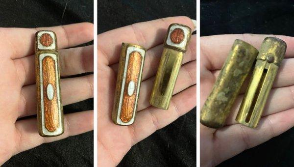 «Что за небольшая металлическая штука?»
