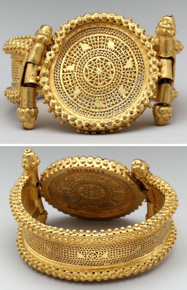 Золотой браслет. Византия, IV в.