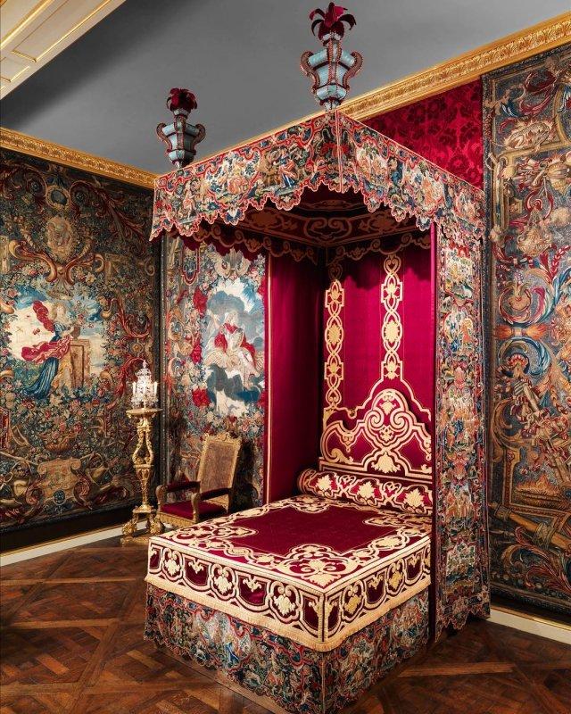 Ложе короля Франции Людовика XIV, XVI–XVII вв.