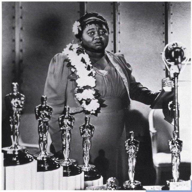 Хэтти Макдэниел - первая темнокожая актриса, получившая «Оскар», 1940 год