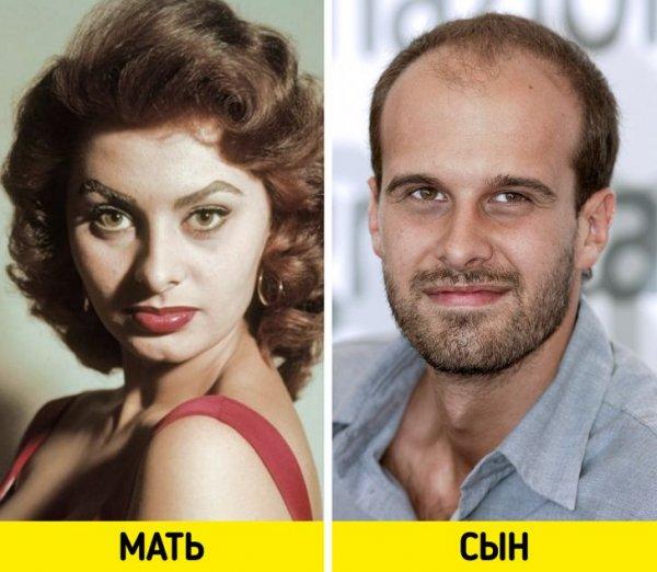 Софи Лорен и Эдоардо Понти