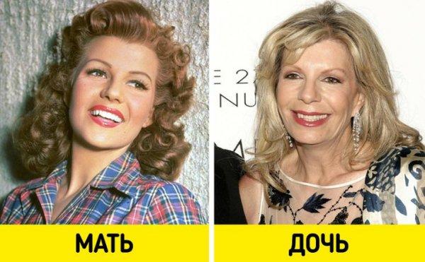 Рита Хейворт и Ясмин Кхан