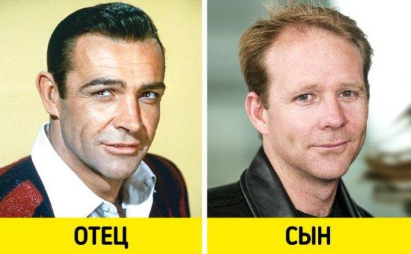 Шон Коннери и Джейсон Коннери