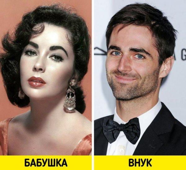 Элизабет Тейлор и Куинн Тайви