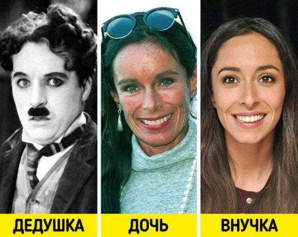 Чарли Чаплин, Джеральдина Чаплин и Уна Чаплин