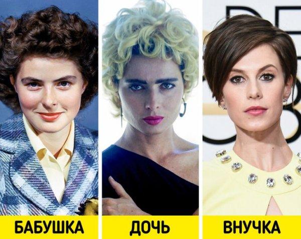 Ингрид Бергман, Изабелла Росселлини и Элеттра Росселлини-Видеманн