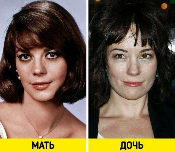 Натали Вуд и Наташа Грегсон Вагнер