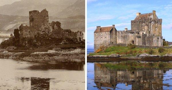 Замок острова Эилин Донан, Великобритания