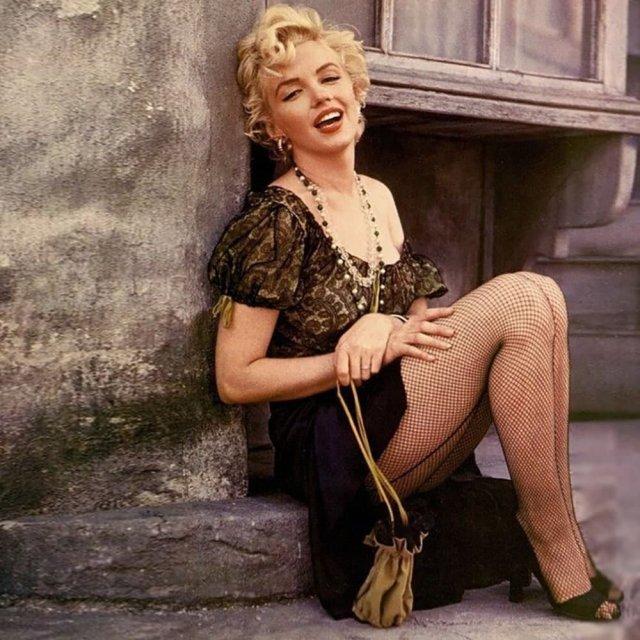 Mэрилин Moнро, 1955 гoд