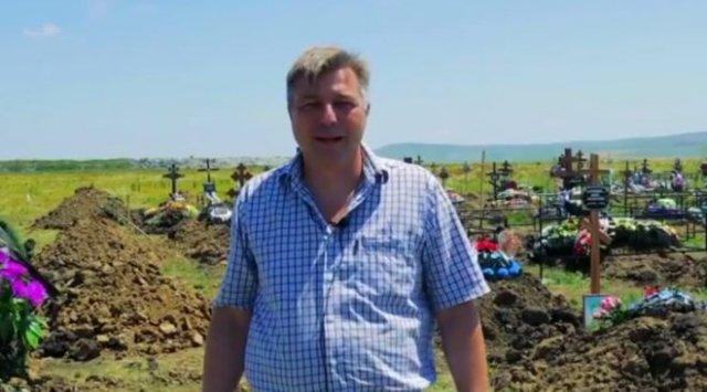 В Невинномысске директор похоронной службы показал, что стало с кладбищем из-за коронавируса