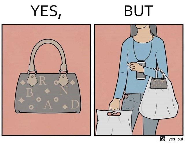 Зачем нужна сумочка, в которую ничего не помещается?