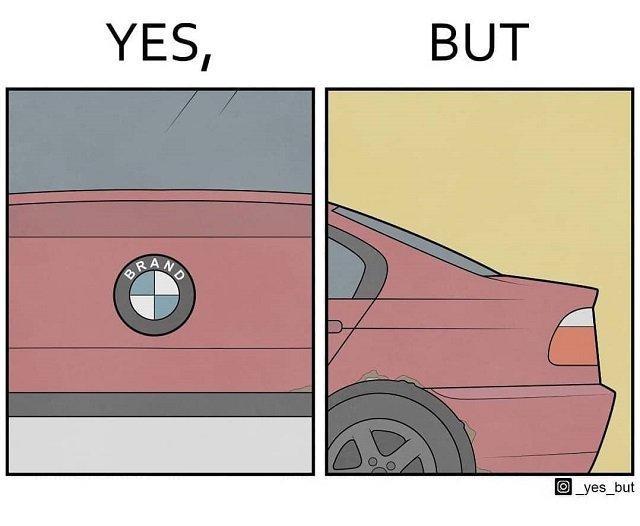 Водить дорогую, но поломанную машину