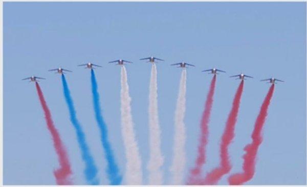 Такой вот флаг Франции