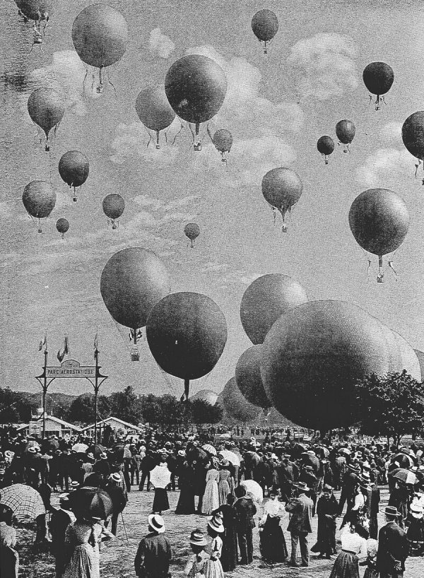 Гонки на воздушных шарах