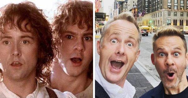 Билли Бойд и Доминик Монахэн, которые сыграли Пиппина и Мерри во «Властелине колец»