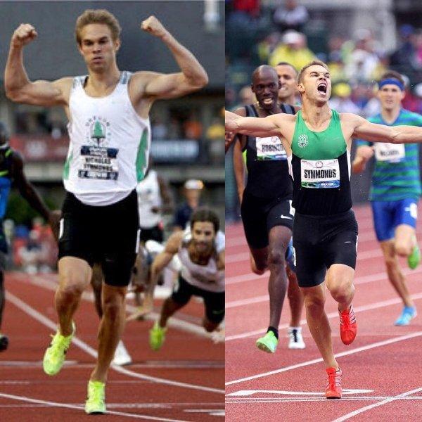 Ник Симмондс и его реакция на его победы на отборочных соревнованиях к двум Олимпиадам