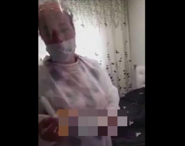 В Красноярске женщина накинулась на медсестру из-за теста на коронавирус, взятого у ее дочери