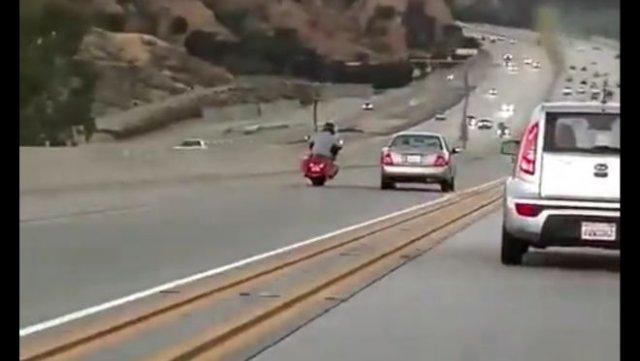 Один пинок, из-за которого произошла очень серьезная авария