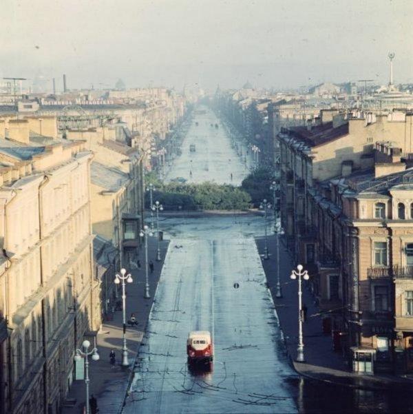 Невский проспект. 1960 г