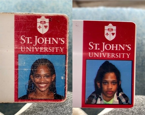 Одна и та же девушка на первом и на четвёртом курсе университета