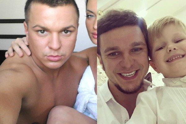 Предприниматель и бывшая звезда «Дом-2» Антон Гусев посадил 8-летнего сына за руль «Мерседеса» и дал