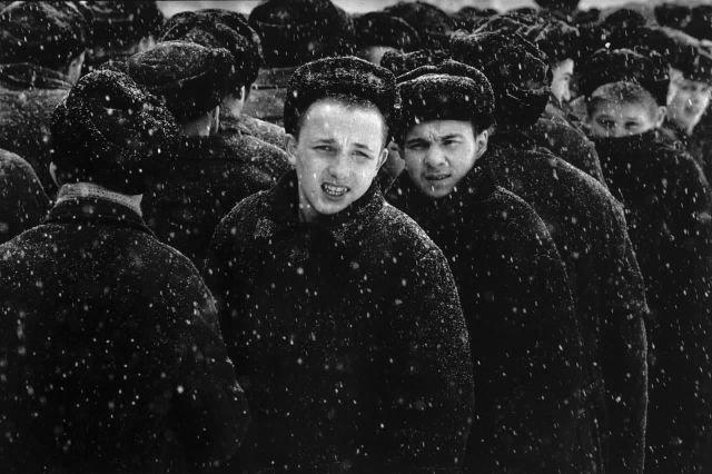Подростки на зоне. 1992 год.